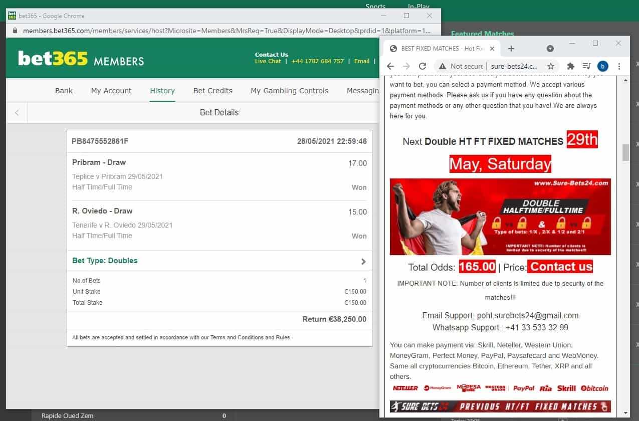 100 ht ft fixed matches